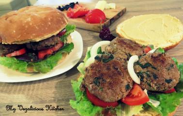 Veganski lečini burgerji ali polpetke