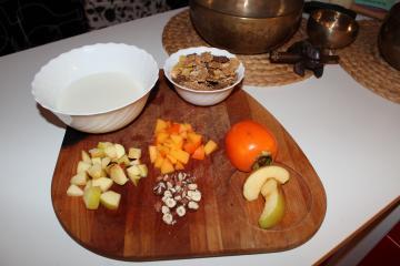 Kefir s sadjem