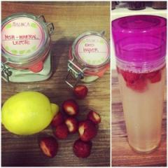 Osvježavajuća limunada za ljepotu i čišćenje s jagodama