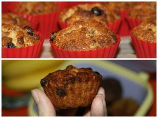 Muffini sa zobenim pahuljicama i borovnicama