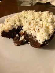 Lava tortica s pravim kakavom in lešnikovim namazom