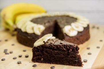 Čokoladno bananina tortica