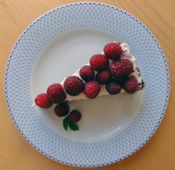 Malinova pita iz amaranta