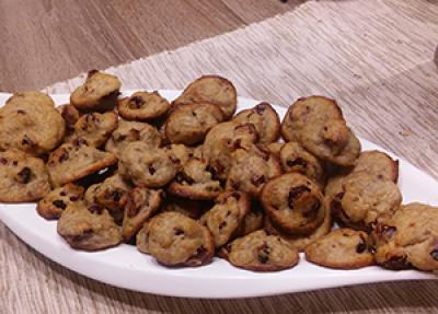 Pirini piškoti brez sladkorja, mleka in jajc