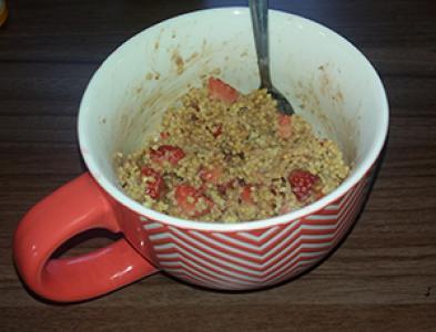 Zajtrk s proseno kašo