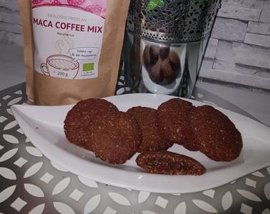 Maca coffee piškoti