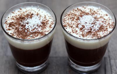 VIDEO: Schokoladen-Kokosnuss-Pudding