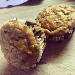 Erdnuss-Bananen-Muffins