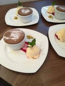 Čokoladni souffle brez moke