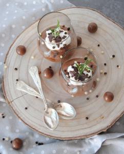 Čokoladni mus, kjer kalorije niso mus