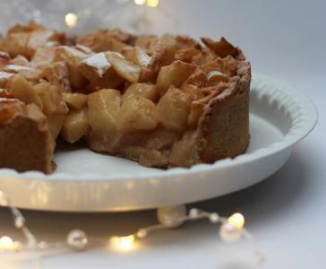 Jabolčna pita z vonjem po božiču