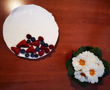 Ovseno grška tortica