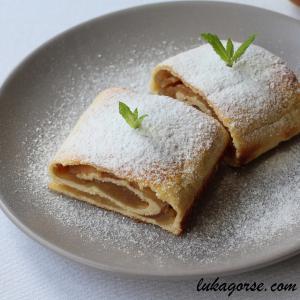 Glutenfreier Apfelstrudel ohne Mehl