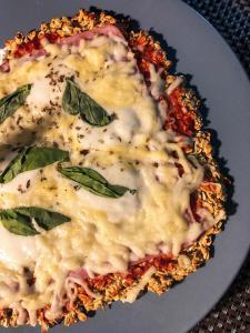 Pizza iz zobenih pahuljica