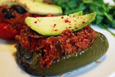 Pečene paprike punjene kvinojom