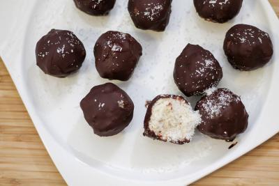 Zdrave kokosove kroglice
