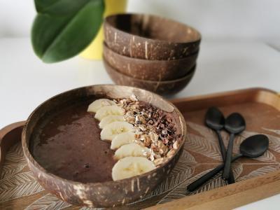Čoko smoothie bowl