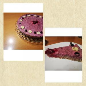 Presna torta - gozdni sadeži