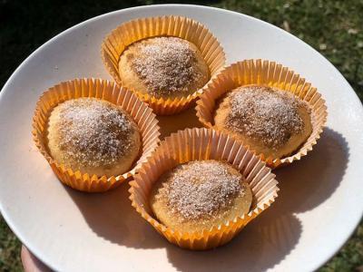 Veganski snickerdoodle muffini