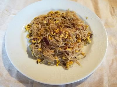 LCHF špageti z jajcem