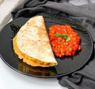 Frühstücks-Quesadilla