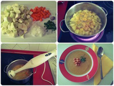 Domača bučkina juha