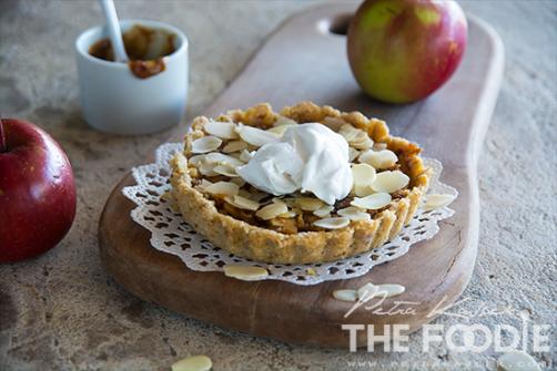 Sirova jabučna pita