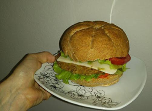 Zdravi veganski burger