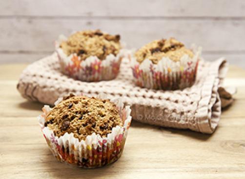 Kvinoja čokoladni muffini