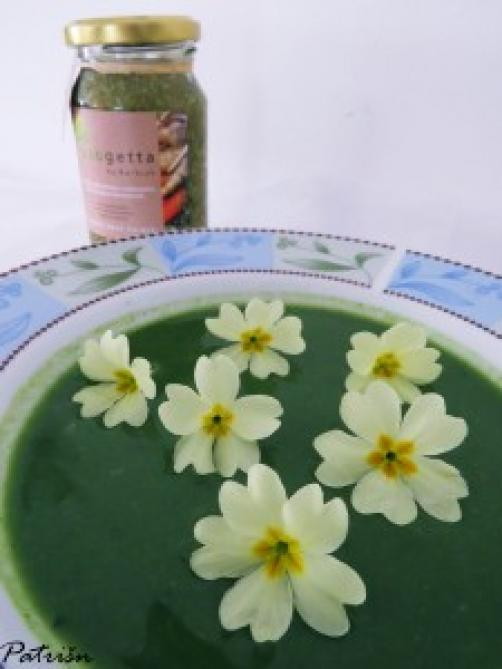 Maslačkova juha s jaglacem