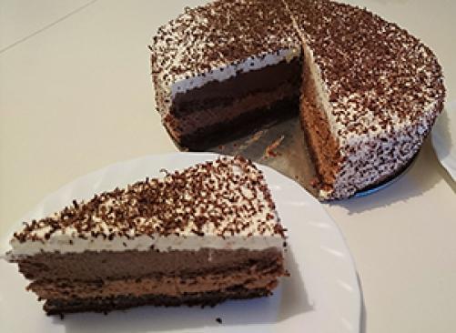 Čokoladna torta 3 v 1