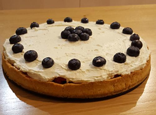 Osvežilna sadna torta