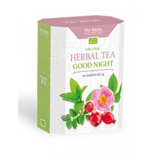 Zeliščni čaj za lahko noč