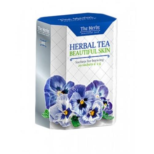 Zeliščni čaj za lepšo kožo