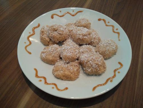 Mandljevi fit piškoti brez peke