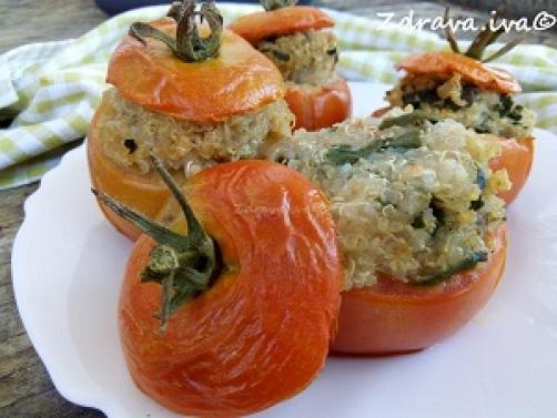 Zapečene punjene rajčice