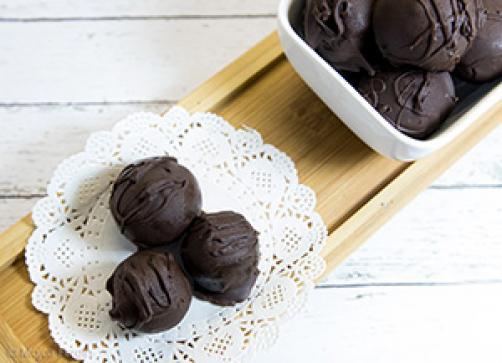 Brownie čokoladne kroglice