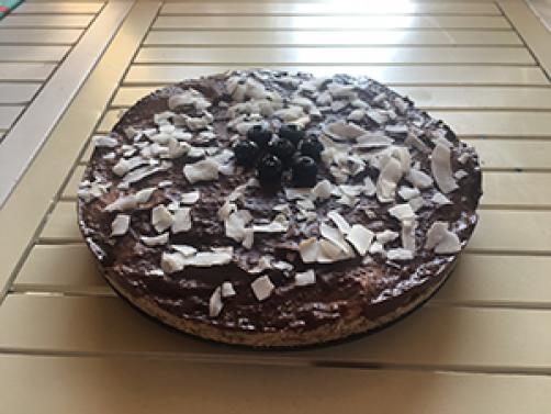 Presna torta s sadjem