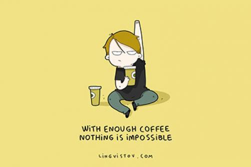 Pozitivne misli o kavi