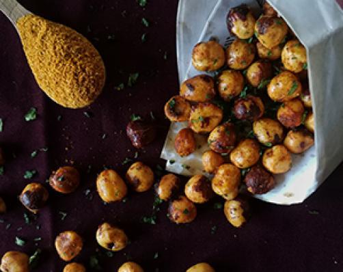 Hrustljavo pekoči lešniki