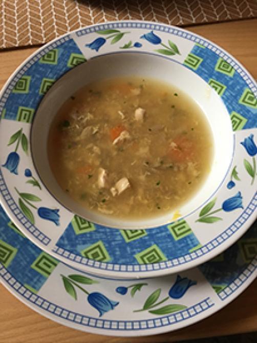 Slovensko - kitajska pekoča juha