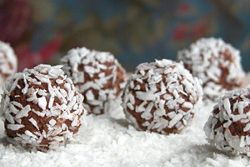 Energijske kroglice z arašidovim maslom