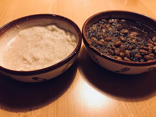 Črna redkev solata