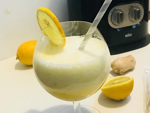 Limona - ingver detox smoothie