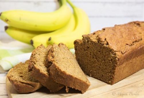 Bananin arašidov kruh