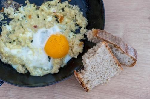 Pečena jaja s kvinojom