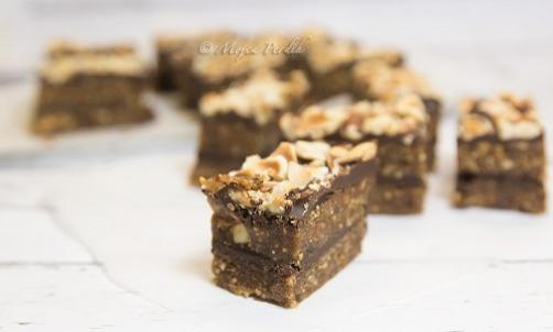 Lešnikovo čokoladne kocke