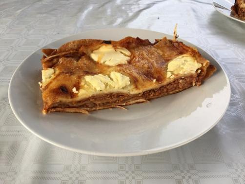 Mesna lazanja s tortiljami