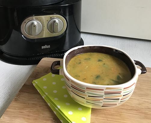 Poletna domača juha