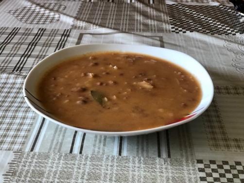 (Serbische) Bohnensuppe